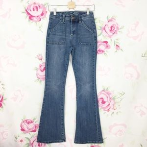 The Limited High Waisted Flare Denim Jeans